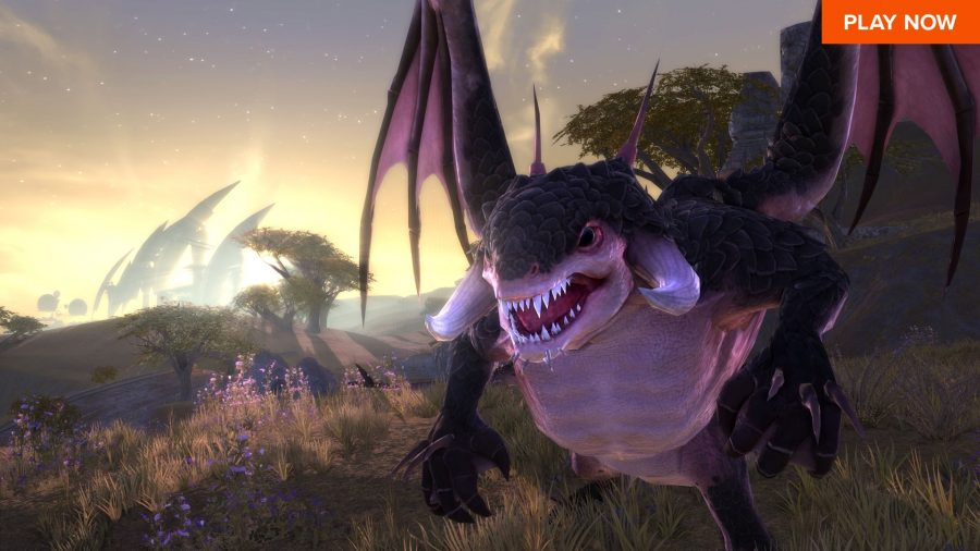 A scary yet adorable creature in one of the best free PC games, Rift