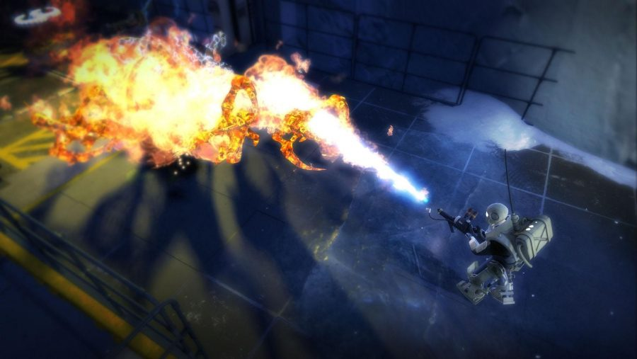 Aliens take a flamethrower to the face in Alien Swarm, one of the best free PC games