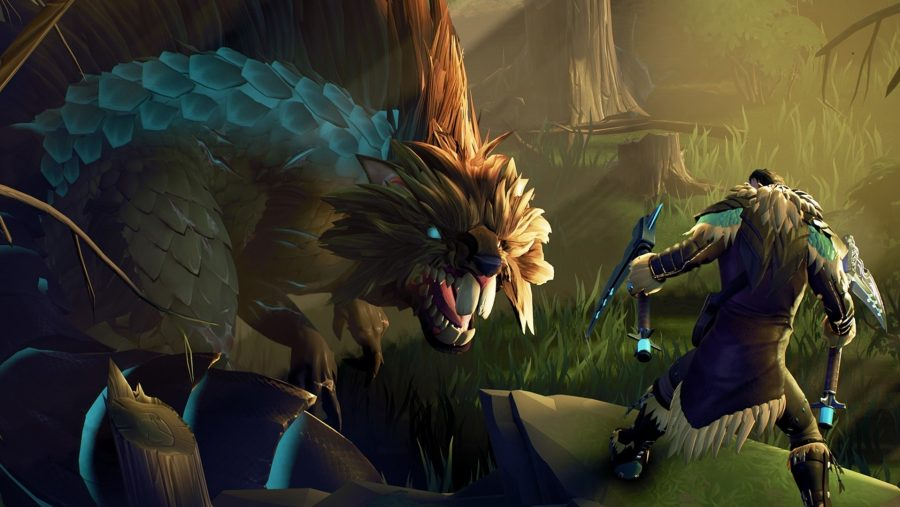 Dauntless, one of the best free PC games available on the Epic Game Store, is basically Monster Hunter for nothing.