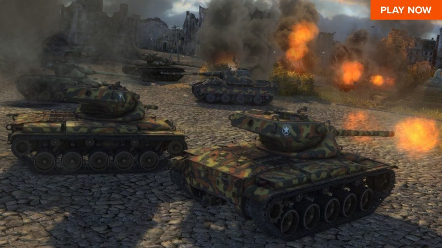 One of the best free PC games is World of Tanks, where you blow up enemies in tanks.