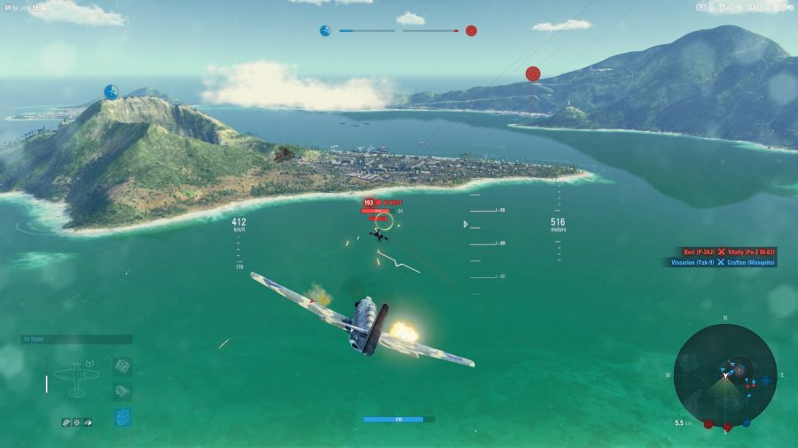 One of the best free PC games, World of Warplanes