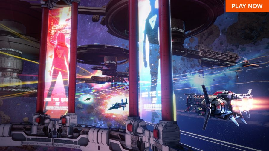 Star Conflict is one of the best free PC games and it has you fly spaceships in dogfights.